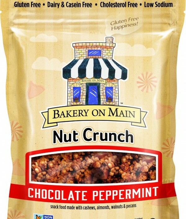 Chocolate Peppermint Nut Crunch Snack