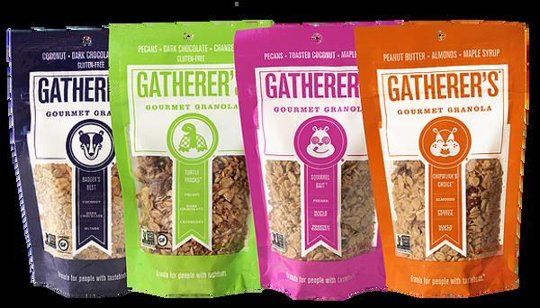 Small Bag Bundle - Four bags, you choose your granola flavors