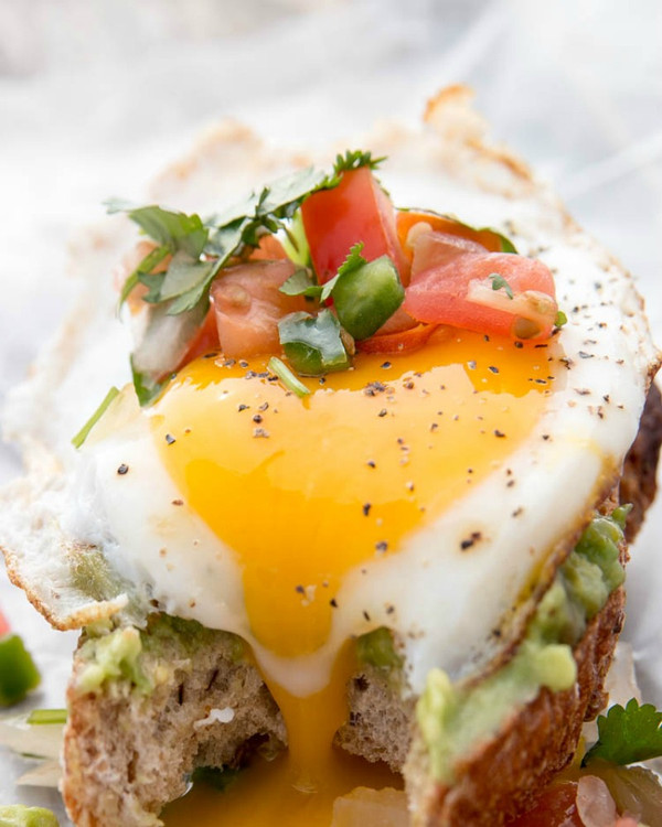 Fried Egg and Avocado Toast