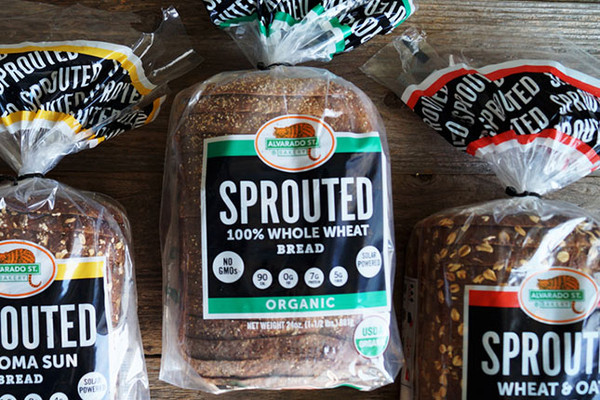 Sprouted Wheat & Oats Bread - Black Label