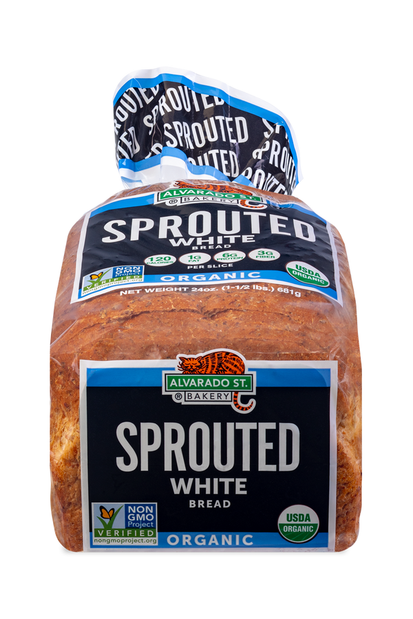 Sprouted White Bread - Black Label