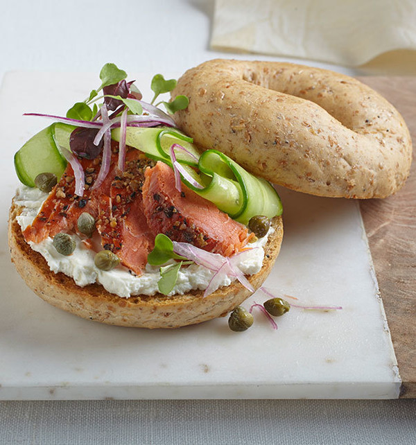 Sprouted Sesame Seed Bagels