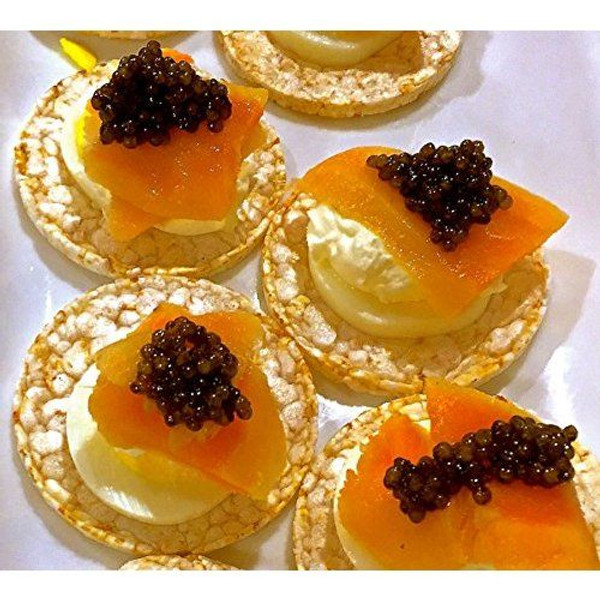 American Hackleback Caviar - Malossol - 8 oz tin
