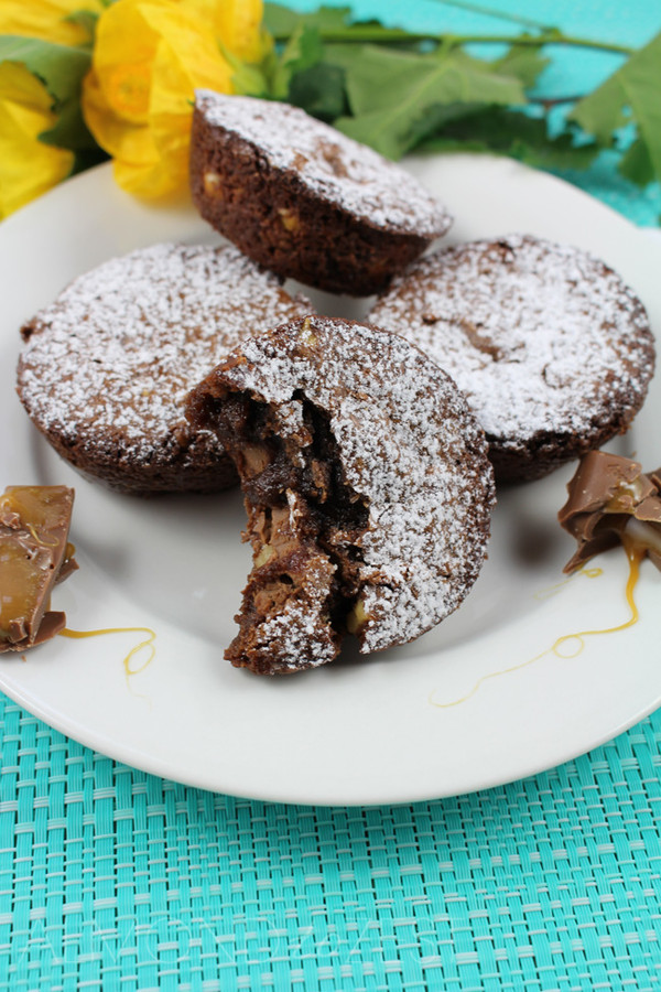 Caramello Brownie Bites