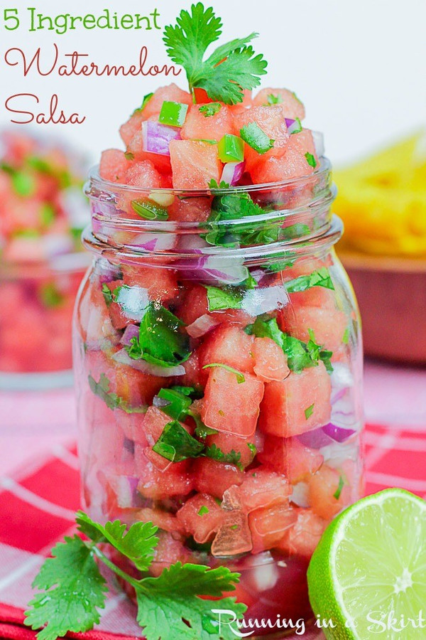 Fresh Watermelon Salsa