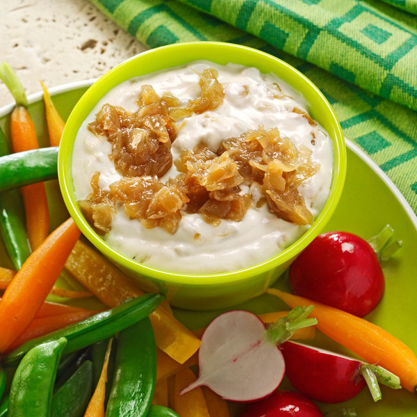 Creamy French Onion Dip - Dairy Free - Dip it, Dress it