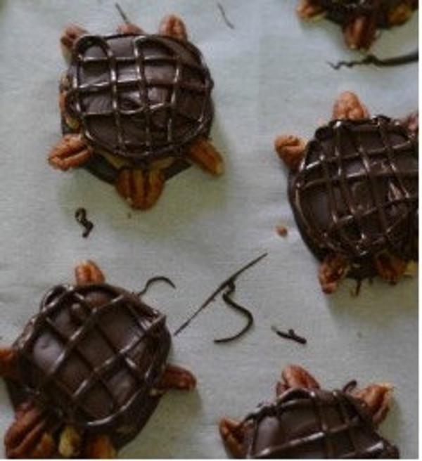 Vegan Turtle Chocolates
