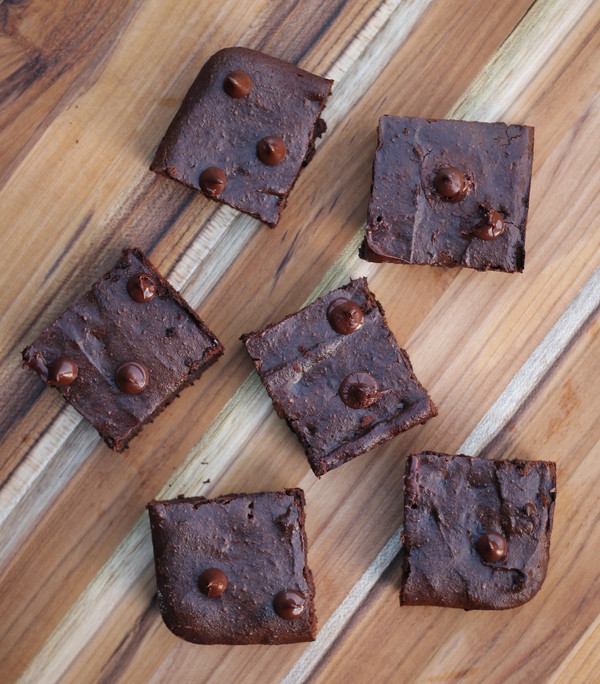 Vegan Double Chocolate Sunflower Brownies - 18 included