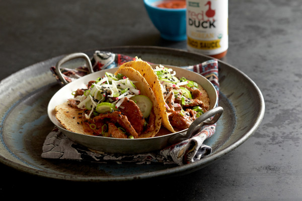 Organic Actually Spicy Taco Sauce - Red Duck