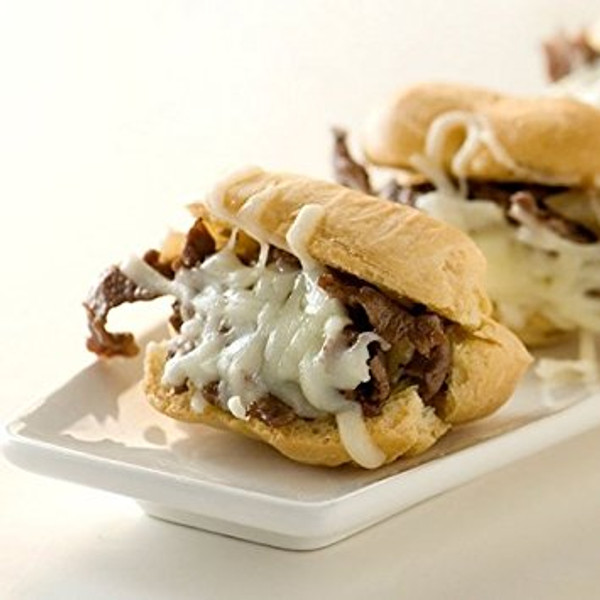 Philly Cheese Steaks - 40 pieces per tray