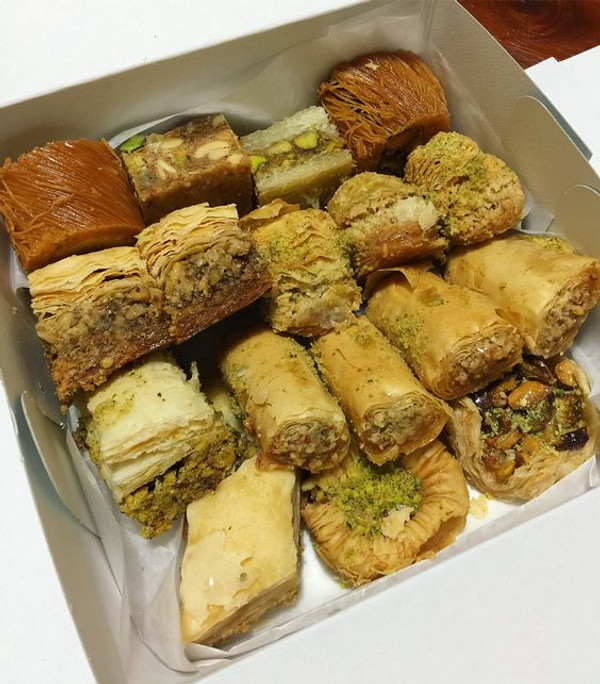 Baklava Assortment - 50 pieces per tray