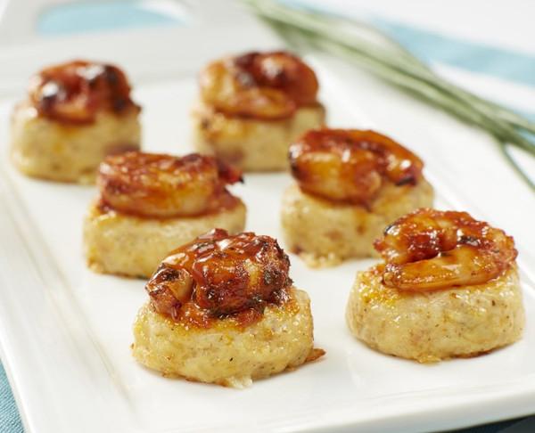BBQ Shrimp & Grits - 24 pieces per tray