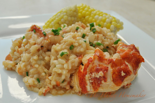 Maine Lobster Risotto - 2 1/2 lbs