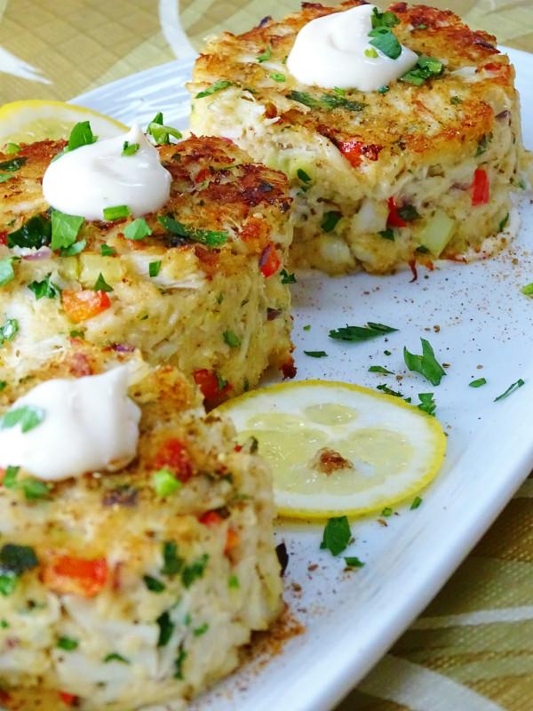 Baked Jumbo Maryland Crabcakes - 4 of 8 oz. each