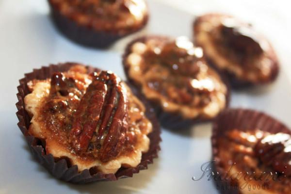 Bourbon Toasted Pecan, Mini Pie - One Dozen