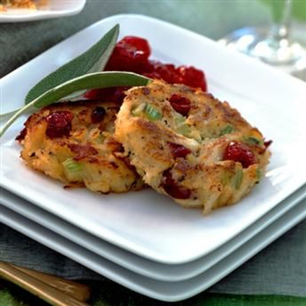 Sage and Cranberry Crab Cakes - 4 of 8 oz. each
