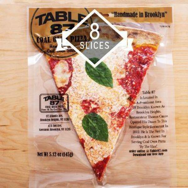Coal Oven Margherita Pizza - 8 Giant Slices