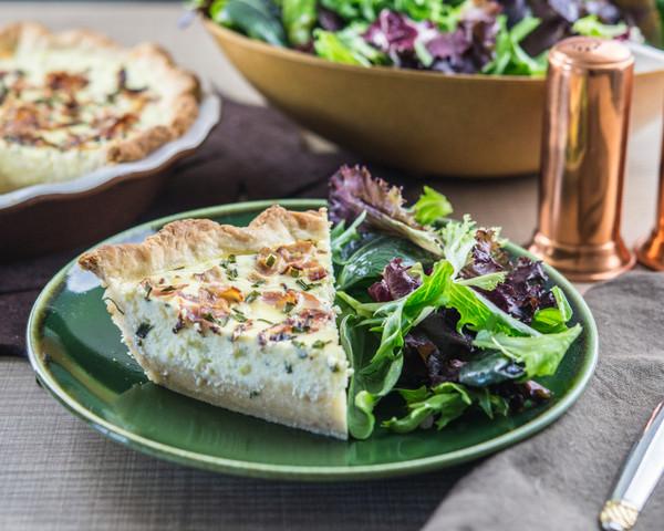 Nokkelost Cheese Quiche
