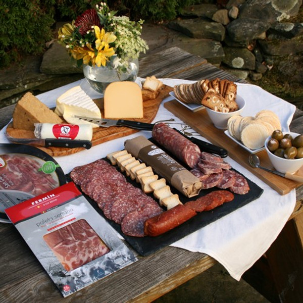 Grand Assortment of Meat and Cheese Favorites