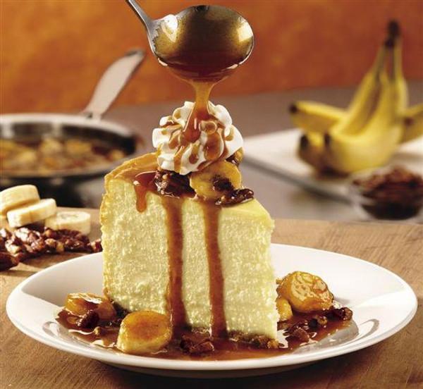 Bananas Foster Cheesecake - 9 inch (Serves 8-10)