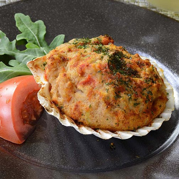 New England Style Stuffed Scallops - 36 pieces per tray