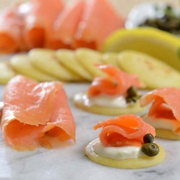 Norwegian Gravlax Salmon Trout Superior - Sliced 2.2 lbs