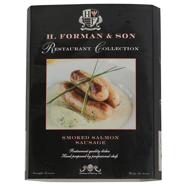 Smoked Salmon Sausages 16 oz - 4 links