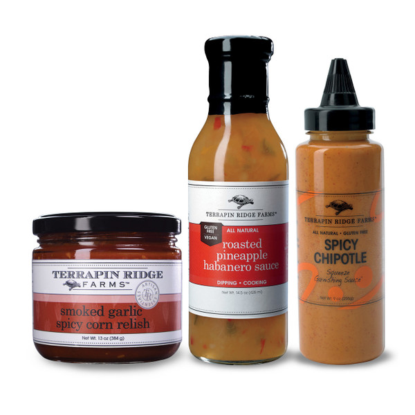 SPICY LOVER GIFT SET - Terrapin Ridge Farms
