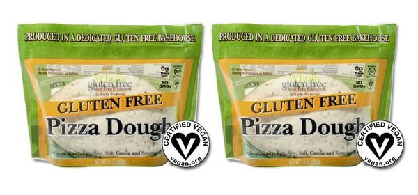 Gluten Free Pizza Dough Balls - 6 per case, 14 oz each