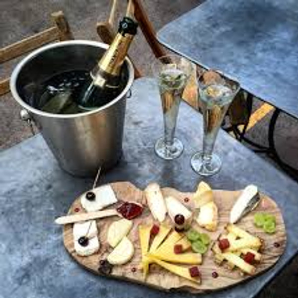 Champagne Cheese Gift Set