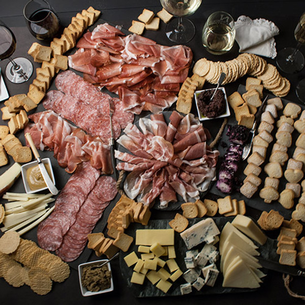 Gourmet Imported Food Assortment - serves 20+ guests