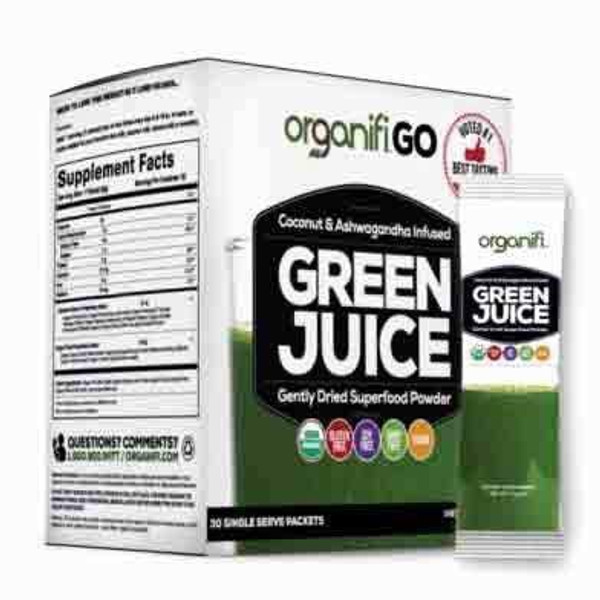 ORGANIFI GREEN JUICE GO PACKS - 1 BOX