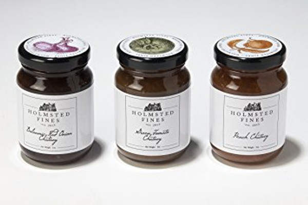 Chutney Gift Trio (5 oz jars) - Holmsted Fines