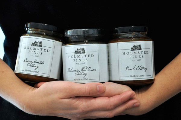 Chutney Gift Trio w/ Gift Box Black (5 oz jars) - Holmsted Fines