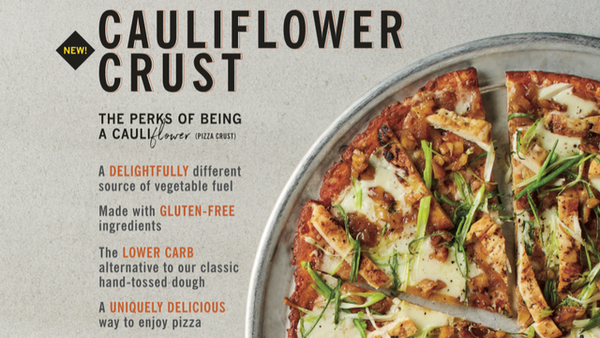 Cali'flour Foods Gluten Free, Low Carb Cauliflower Pizza Crusts - 6 Original Italian crusts and 4 Sweet Red Pepper