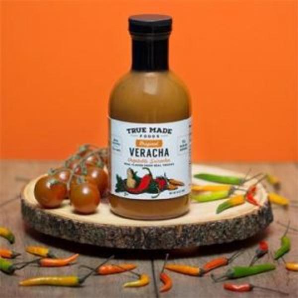 True Made Foods Hot Sauce Original Veracha, Paleo Friendly, Non-GMO, 6 pack
