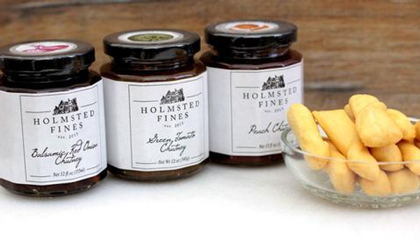 Apple Jalapeno Chutney (12 oz jar) - Holmstead Fines