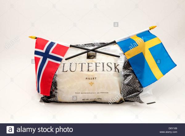 """Lutefisk Lover"" Gift Basket"