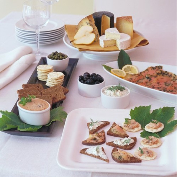 Hors d'Oeuvres Celebration for 10 people