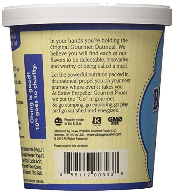 Blueberry Blitz Gourmet Oatmeal, 3.1 oz - Pack of 12