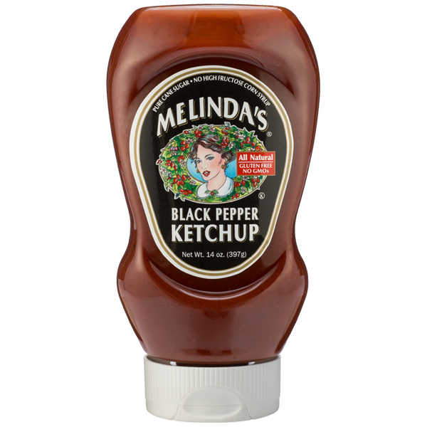 Melinda's Black Pepper Ketchup - 14 oz