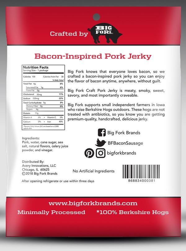 Original Craft Pork Jerky - 1 Case (8 X 2.25 oz. packs)