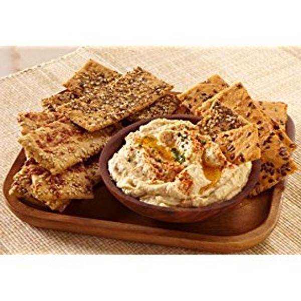 Doctor Kracker Robustica Flats Deli Crackers, Rosemary & Parmesan, 7 Ounce