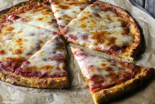 """Broccoli Cheddar Pizza Crust (GF), 10"""" each, Pack of 24"""
