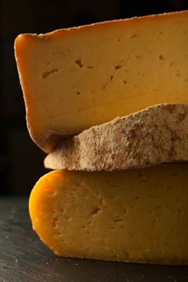 Aged Mimolette 6 Month by Isigny, 7.5 oz