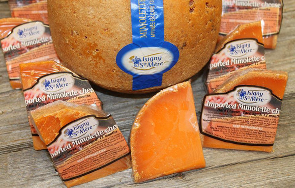Aged Mimolette 12 Month by Isigny, 7.5 oz