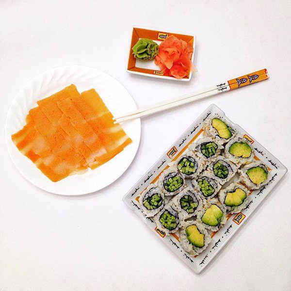 Vegan Smoked Salmon, Sophie's Kitchen