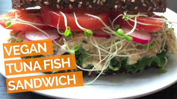 Vegan Toona (Tuna Fish) Black Pepper, Sophie's Kitchen