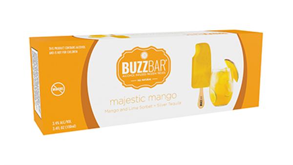 Majestic Mango Sorbet BuzzBar - 12 Pack