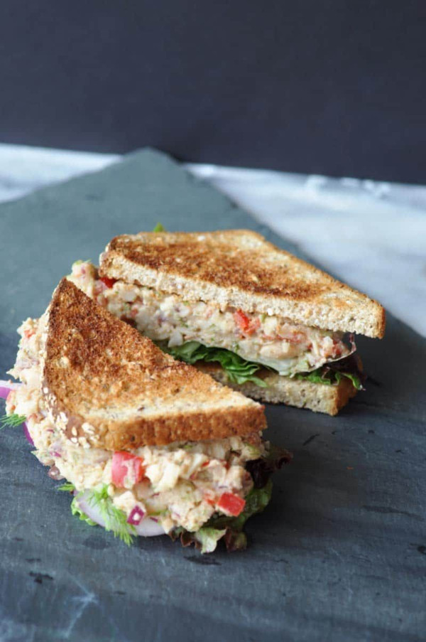 Plant Based Vegan Toona Tuna Fish Salad